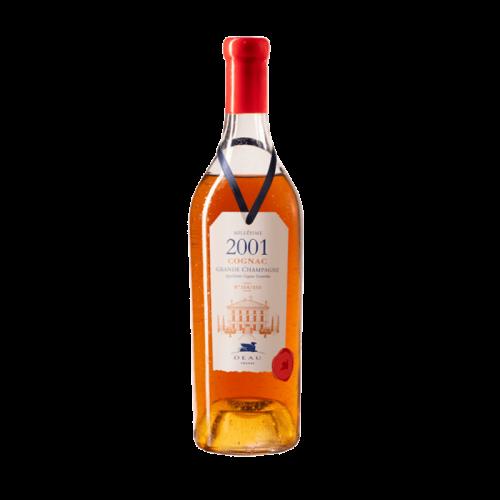 Deau cognac millesime 2001...