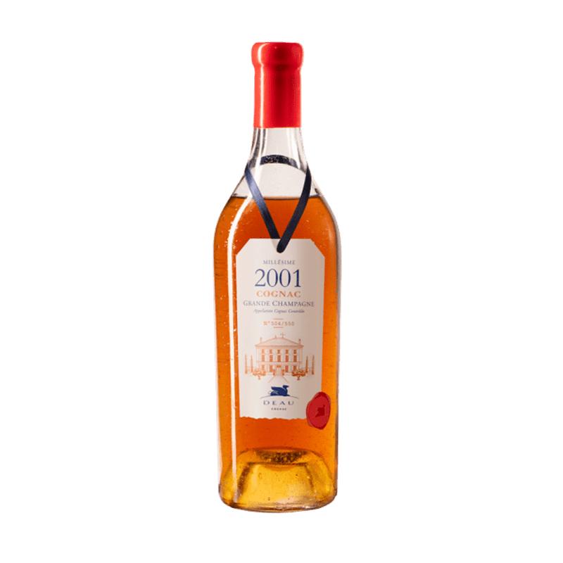 DEAU COGNAC MILLESIME 2001 Grande Champagne