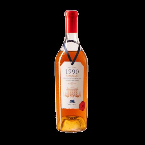 DEAU COGNAC MILLESIME 1990 Grande Champagne