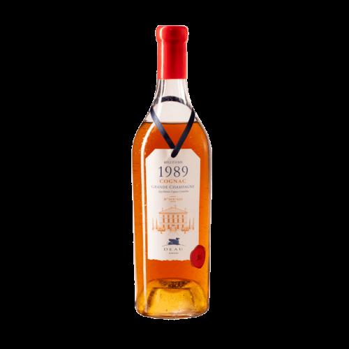 Deau cognac millesime 1989...
