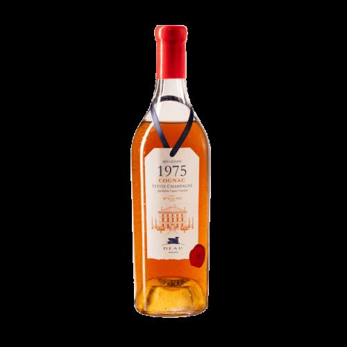 DEAU COGNAC MILLESIME 1975 Petite Champagne