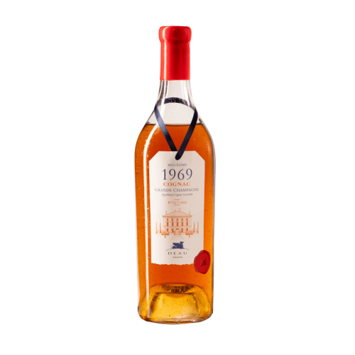 Deau cognac millesime 1969...