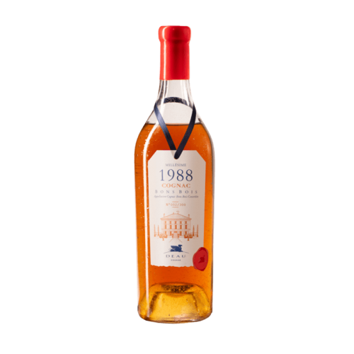 Deau cognac millesime 1988...