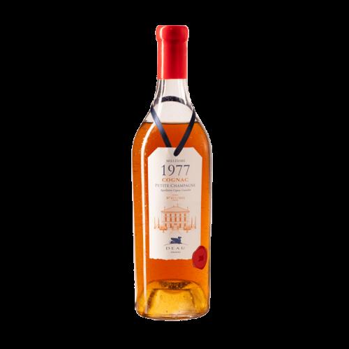 DEAU COGNAC MILLESIME 1977 Petite Champagne