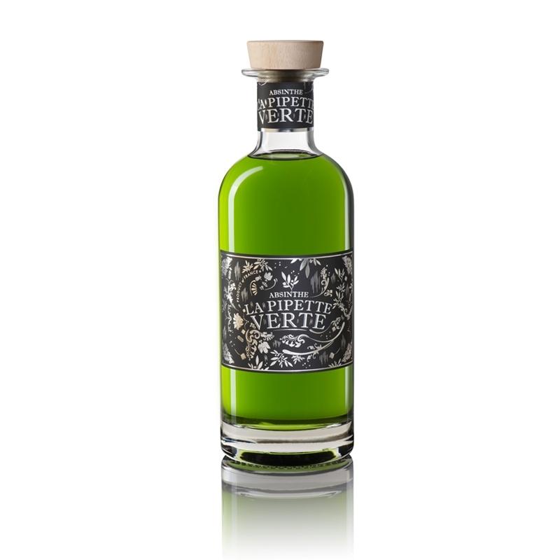 La pipette verte absinthe