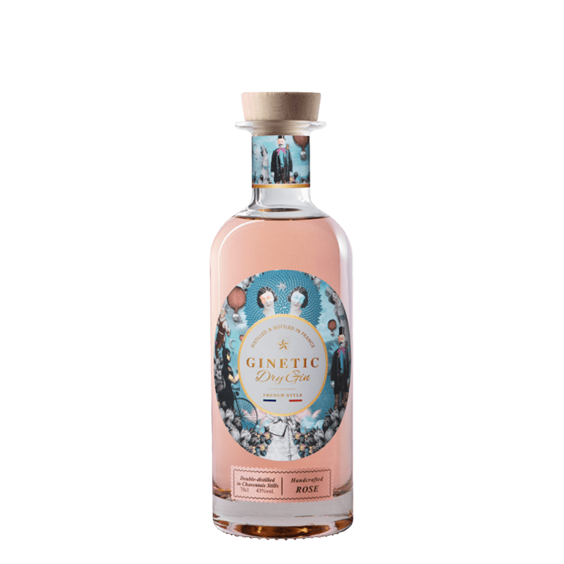 GINETIC ROSE DRY GIN