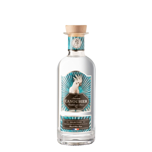 Canoubier white rum from guadeloupe